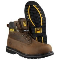 Caterpillar Holton Goodyear Welted Safety Brown